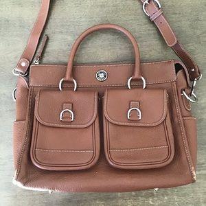 Vintage Dooney & Bourke Leather Bag.
